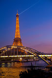 Eiffel Tower.Paris, Francia. Fotografía de archivo libre de regalías