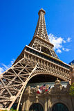 Eiffel tower, Paris hotel and casino, Las Vegas Stock Photography
