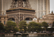 Eiffel Tower, Paris Hotel, Las Vegas Stock Images
