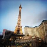 Eiffel Tower at Paris  Hotel. Las Vegas, Nevada Royalty Free Stock Images