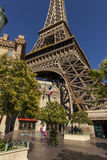 The Eiffel Tower at Paris Hotel in Las Vegas, NV on May 20, 2013 Royalty Free Stock Photos
