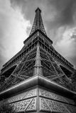Eiffel Tower in Paris III stock photo