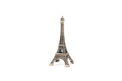 Eiffel tower paris miniature souvenir Royalty Free Stock Photography