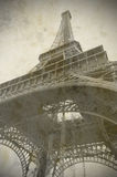 Eiffel tower in Paris, old style Stock Photography