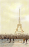 Eiffel Tower Paris Royalty Free Stock Photos