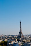 Eiffel Tower, Paris, panoramic view Royalty Free Stock Photo