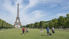 The Eiffel tower in Paris Royalty Free Stock Images
