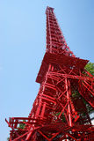 Eiffel Tower on Paris Plages 2014 Stock Photos