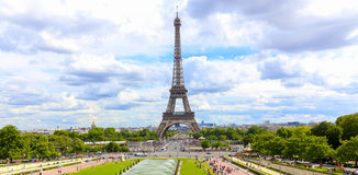 The Eiffel Tower - Paris Royalty Free Stock Images