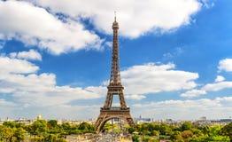 Eiffel tower, Paris skyline Stock Images