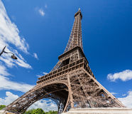 The Eiffel Tower Paris Stock Image