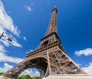 The Eiffel Tower Paris stock image