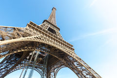 Eiffel Tower Paris summer Stock Image
