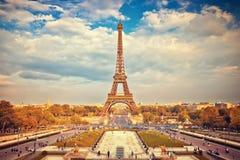 Eiffel Tower in Paris Stock Images