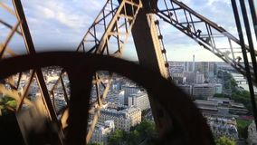 Eiffel Tower - Paris stock video footage