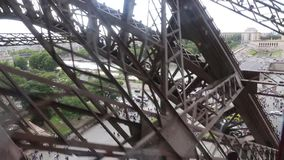 Eiffel Tower - Paris stock video footage