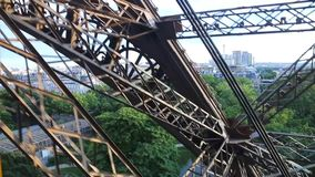 Eiffel Tower - Paris stock footage