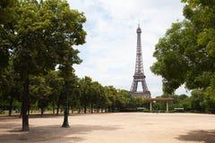 Eiffel tower in Paris. Royalty Free Stock Photo