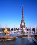 The Eiffel Tower, Paris. Royalty Free Stock Photo