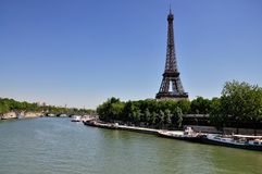 Eiffel Tower, Paris Stock Images