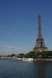 Eiffel Tower. Paris Eiffel Tower view from Seine Royalty Free Stock Photos