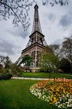 Eiffel Tower and the park, Paris Royalty Free Stock Images
