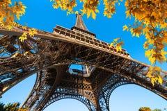 Park of Paris in autumn Stock Image