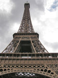 Eiffel Tower perspective view Royalty Free Stock Photo