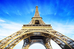 Eiffel tower photo Stock Photography