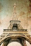 Eiffel Tower - Picture In Retro Style Stock Photo