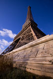 Eiffel Tower pillar Stock Photography