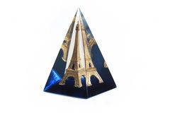 Eiffel Tower Prism. The Eiffel Tower in the glass prism Royalty Free Stock Photography