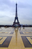 Eiffel Tower Reflection Royalty Free Stock Image
