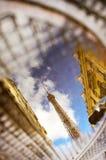 Eiffel Tower Reflection Royalty Free Stock Photo