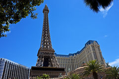 Eiffel Tower replica, Las Vegas Stock Photo