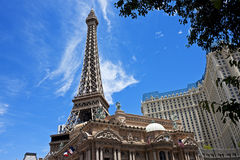 Eiffel Tower replica, Las Vegas Royalty Free Stock Photos