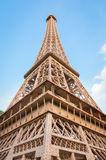 Eiffel tower replica in mini siam Stock Image
