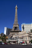 Eiffel Tower replica at the Paris Hotel and Casino in Las Vegas Stock Images