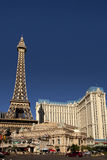 Eiffel Tower replica at the Paris Hotel and Casino in Las Vegas Royalty Free Stock Photos
