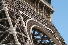 Eiffel tower reproduction in Las Vegas. Detail Royalty Free Stock Photos