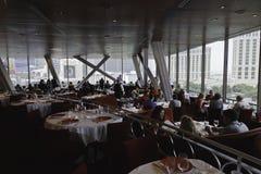 Eiffel Tower Restaurant Royalty Free Stock Photography