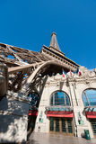 Eiffel Tower Restaurant in Las Vegas Royalty Free Stock Photography
