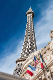 Eiffel Tower restaurant on the Las Vegas Strip in Nevada Royalty Free Stock Photography