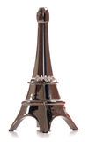 Eiffel tower ring holder Royalty Free Stock Photography
