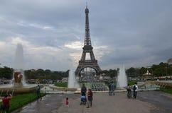 Eiffel Tower !!. Romantic city in Paris Stock Photography