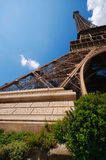 Eiffel tower's base Royalty Free Stock Photo