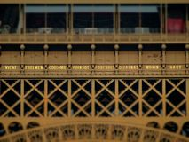 Eiffel Tower Scholarly. The Eiffel tower has a height of 324 meters. It is located at the Champ de Mars in the 7th arrondissement of Paris Royalty Free Stock Photo