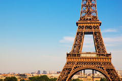 Eiffel Tower section, Paris, France Stock Photo