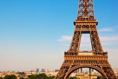 Eiffel Tower section, Paris, France Stock Photo