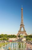 The Eiffel Tower seen from Trocadero. Paris, France Royalty Free Stock Photos